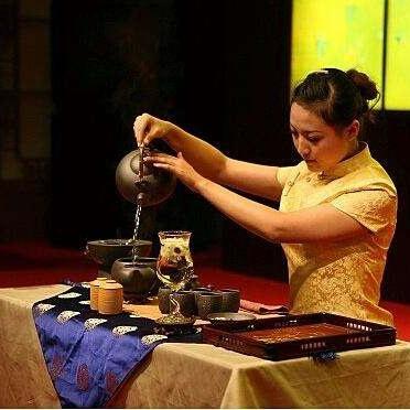 中国茶艺表演