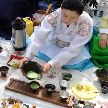 韩国仿古茶艺培训